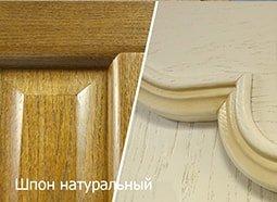 двери натуральный шпон